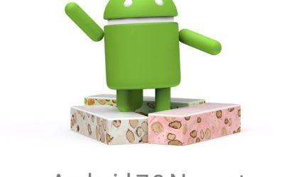 Android 7 Nougat Logo