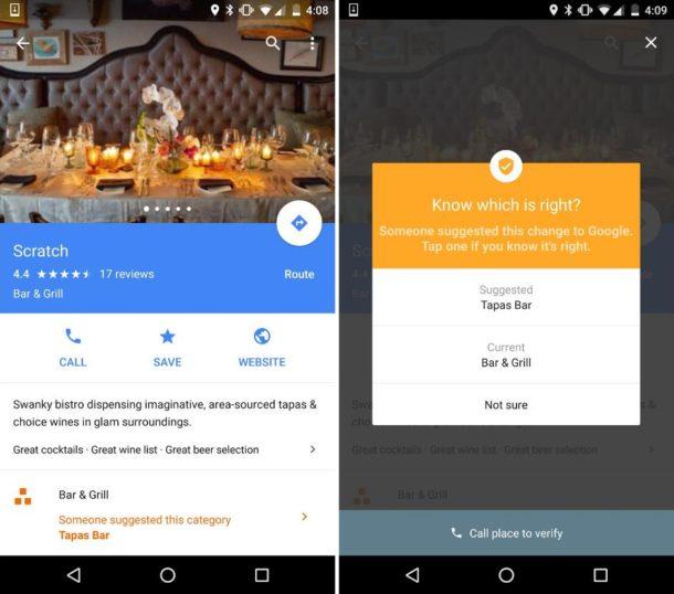 Google Maps Vorschläge (2)