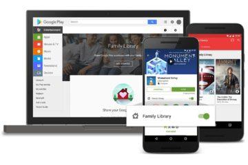 Google Play Familienbibliothek