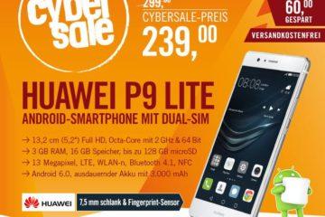 Huawei P9 lite Cybersale