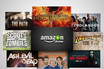 Amazon Prime Instant Video September 2016