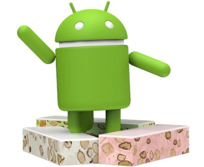 Android 7 Nougat Header Logo