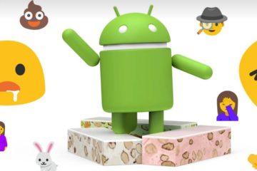 Android Nougat Emoji header