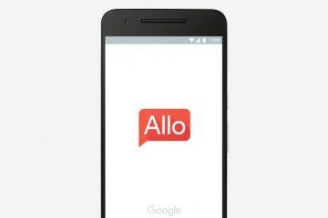 Google Allo Header