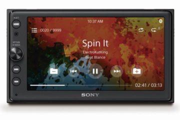 Sony XAV AX100 Android Auto Autoradio