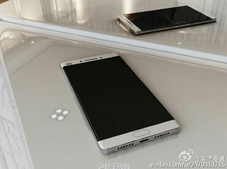 Xiaomi Mi Note 2 erinnert stark an das Galaxy Note 7