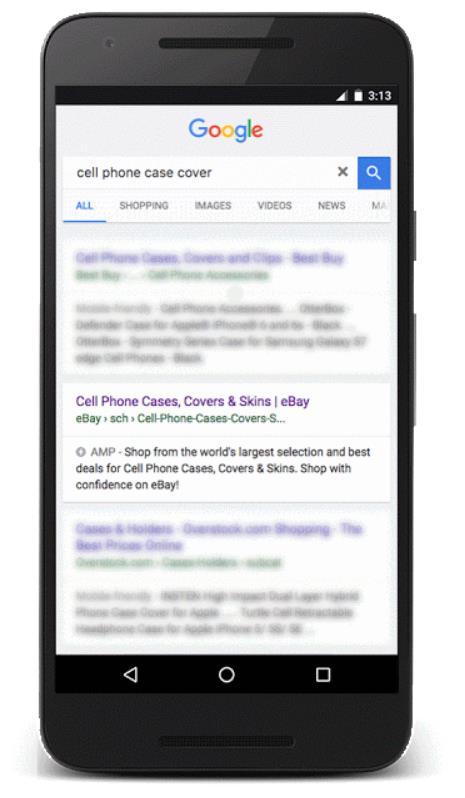 amp google macht die mobile suche deutlich schneller. Black Bedroom Furniture Sets. Home Design Ideas