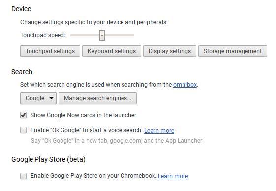 chrome os google play beta