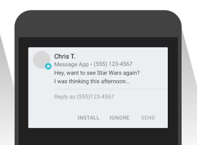 App Preview Messaging