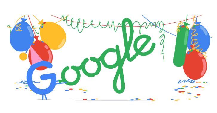 Google Geburtstag 18