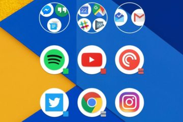 action launcher runde icons
