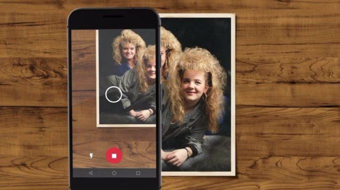 Google Fotoscanner Header