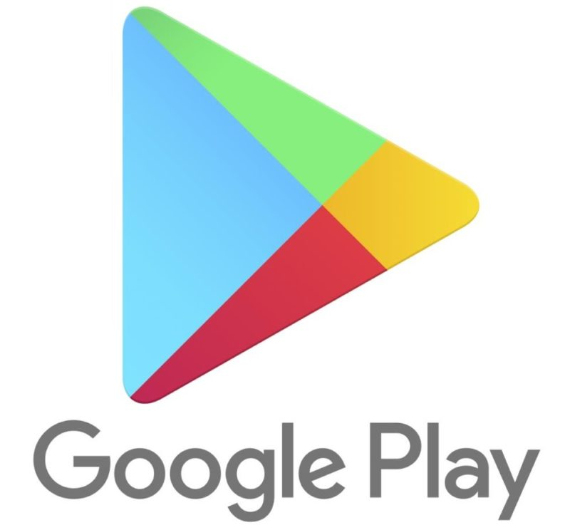 Google Play Store Logo Header