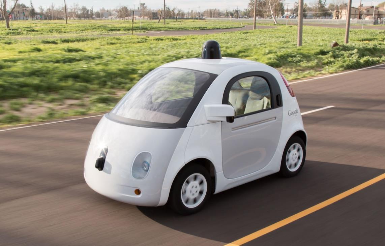 Google selbstfahrendes Auto Header