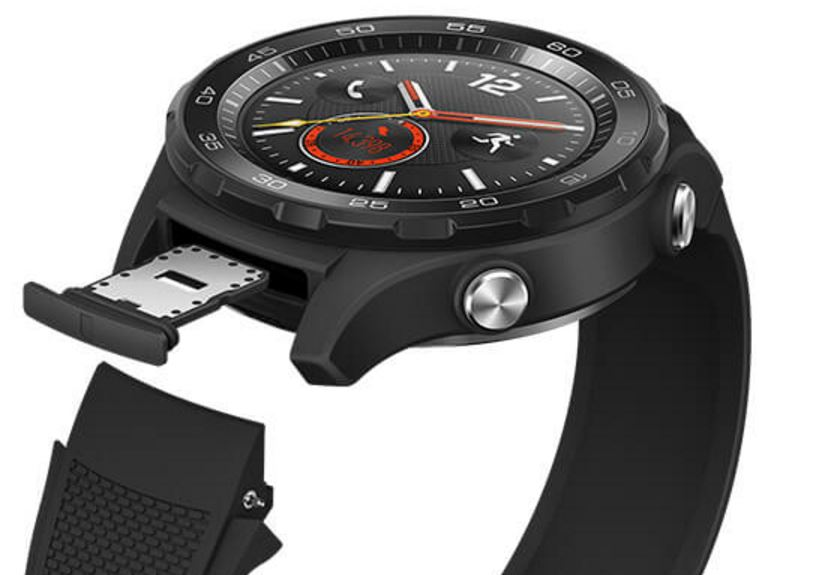 huawei watch 2 sport modell mit sim slot auf bildern zu sehen. Black Bedroom Furniture Sets. Home Design Ideas