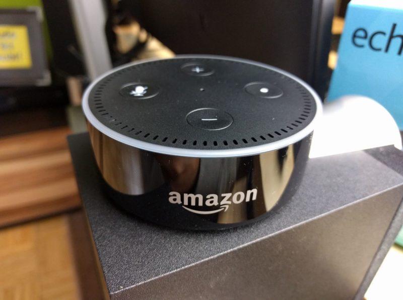 Amazon Echo Dot Test Header