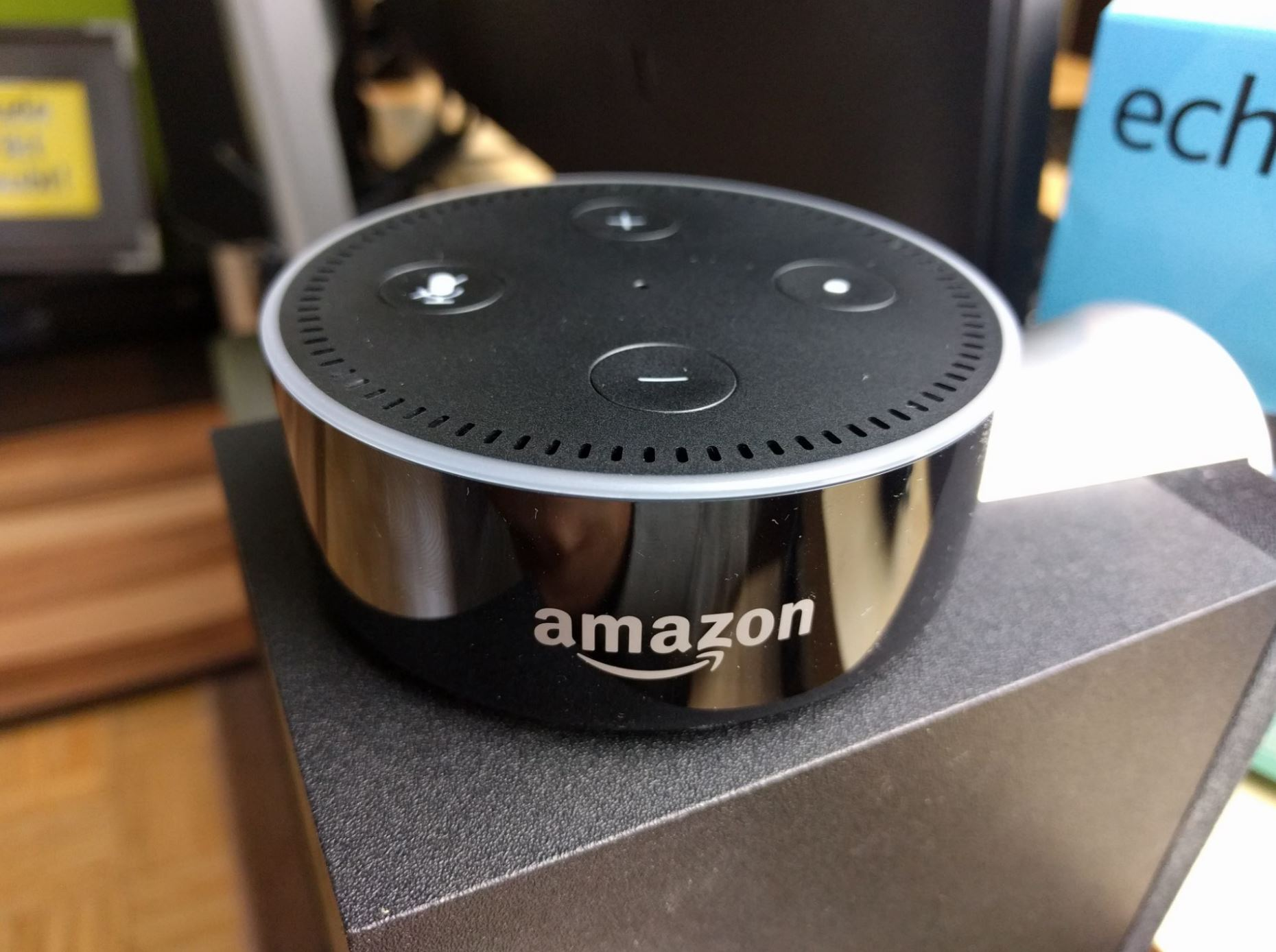 Amazon Echo Dot Test Header