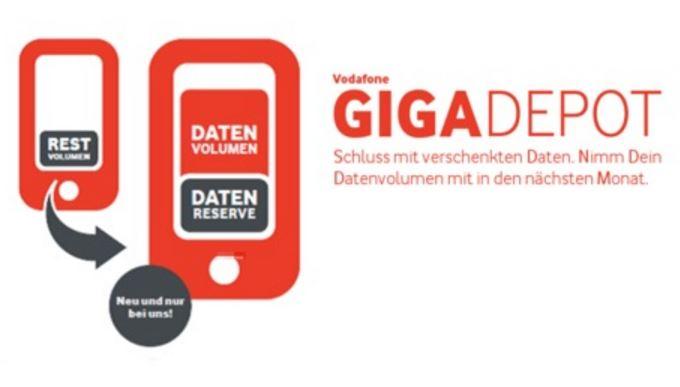 Vodafone GigaDepot