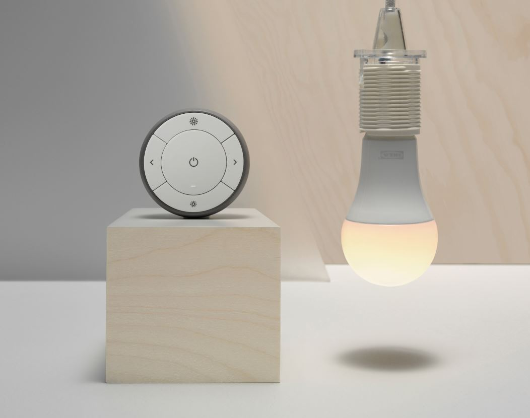 ikea tr dfri smarte lampen mit google assistant und. Black Bedroom Furniture Sets. Home Design Ideas