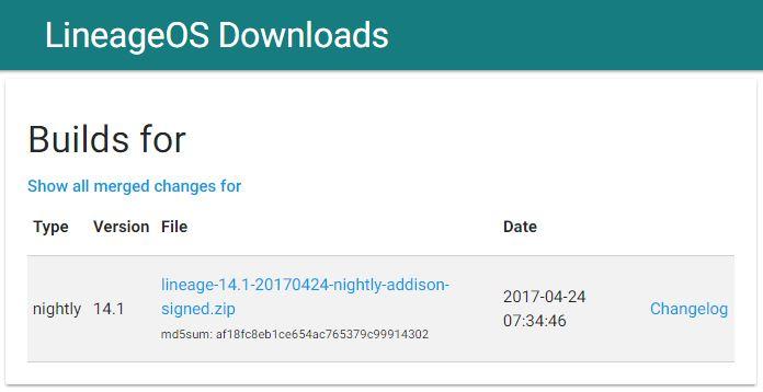 Moto Z Play LineageOS