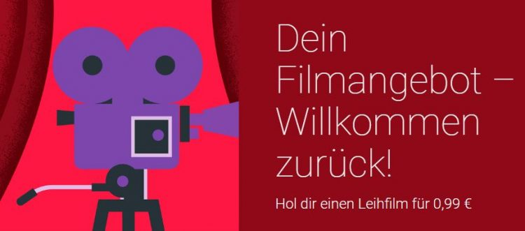 Google Play Filme 99 Cent Angebot
