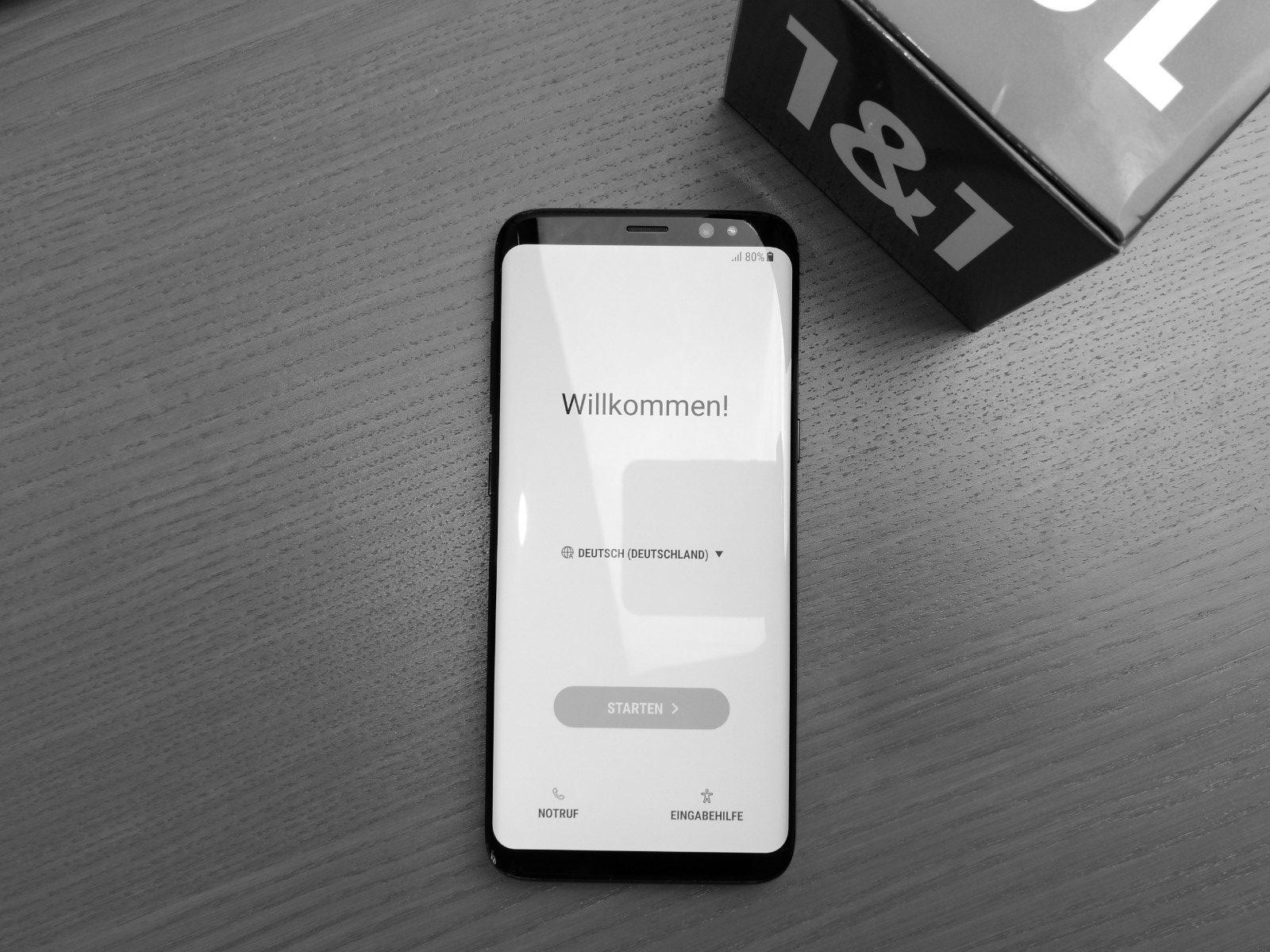 Samsung Galaxy S8 Testbericht: Auf dem Weg zur Perfektion kurz abgebogen