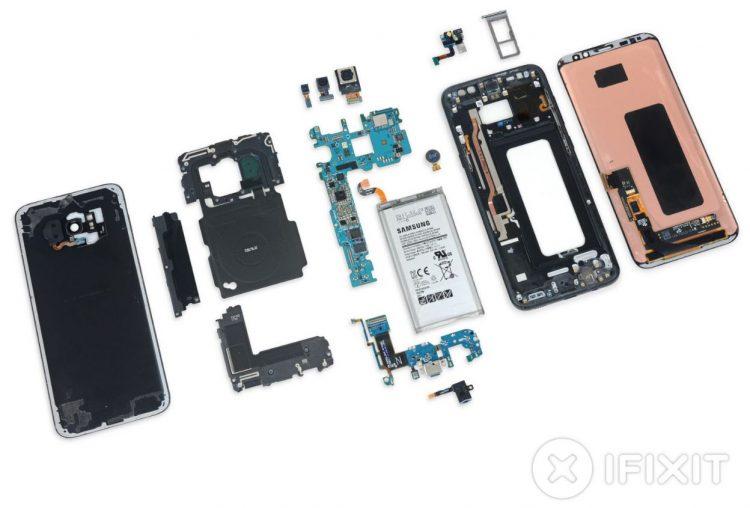 Samsung GalaxyS8 iFixit zerlegt