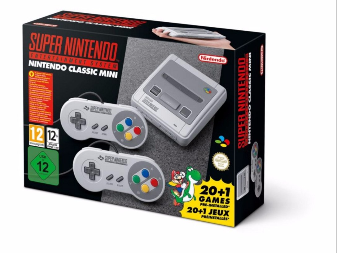 Super Nintendo Classic Mini wieder vorbestellbar