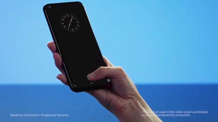 Vivo Fingerabdrucksensor