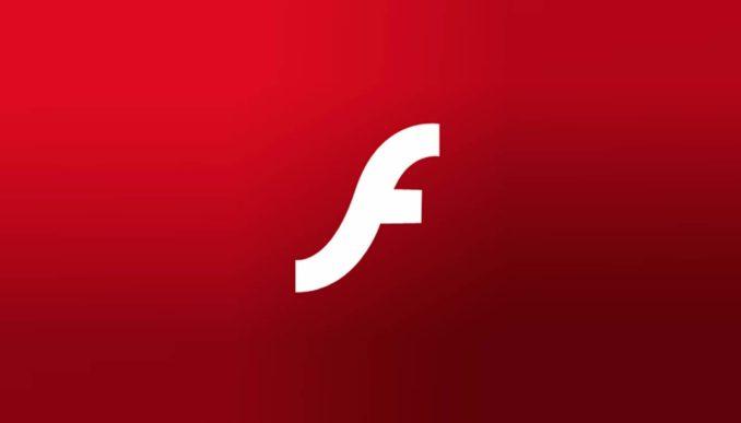 Adobe Flash Header Logo