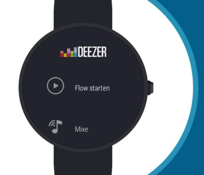 Deezer Android Wear