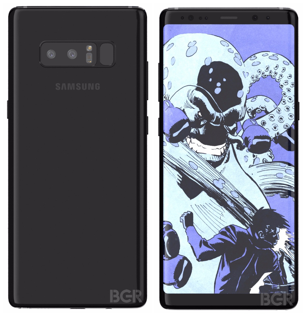 Samsung Galaxy Note8 leak 2