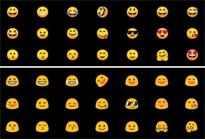 Android 8 Oreo Emojis