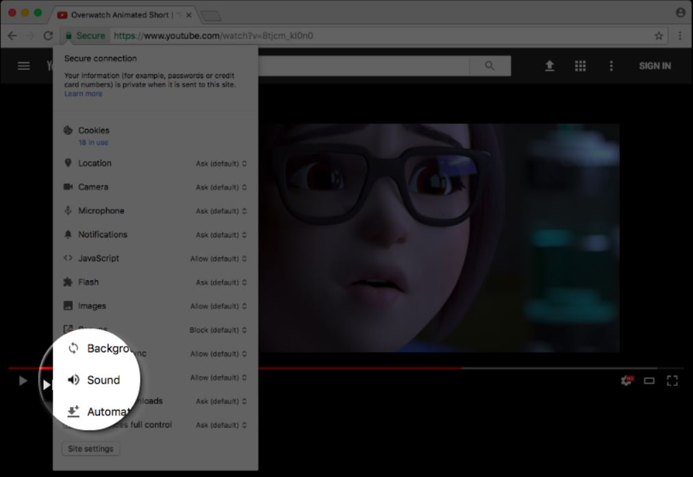 Chrome Audio stummschalten Leak