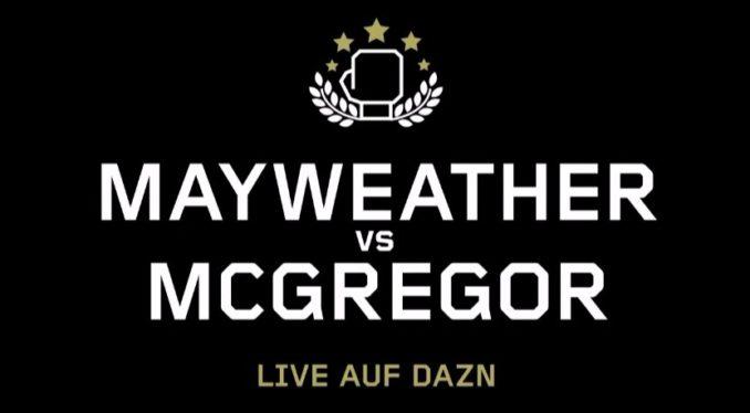 Mayweather McGregor DAZN