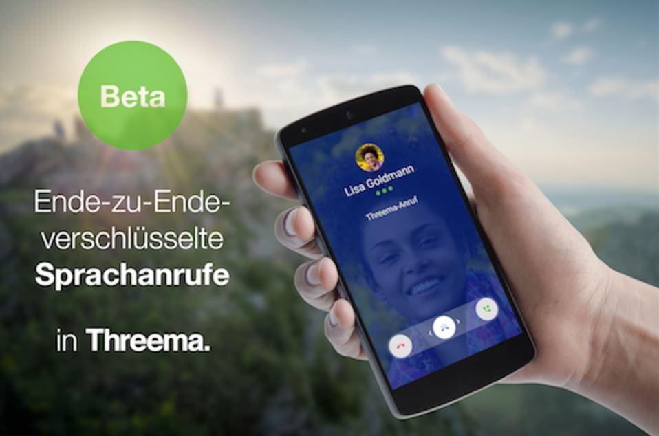 Threema Telefonie Beta
