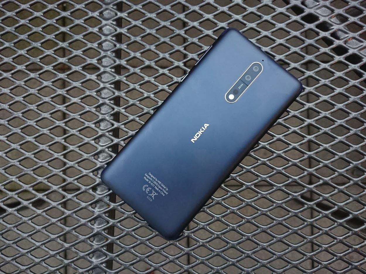 Nokia 8 Test Rückseite