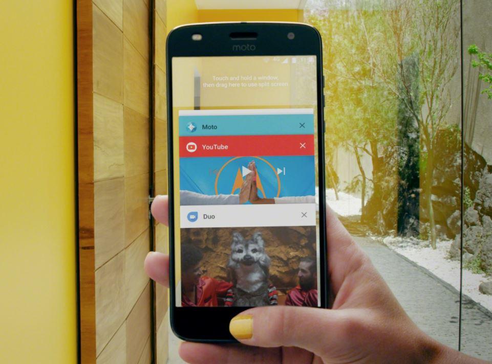 Moto Android 8 Header
