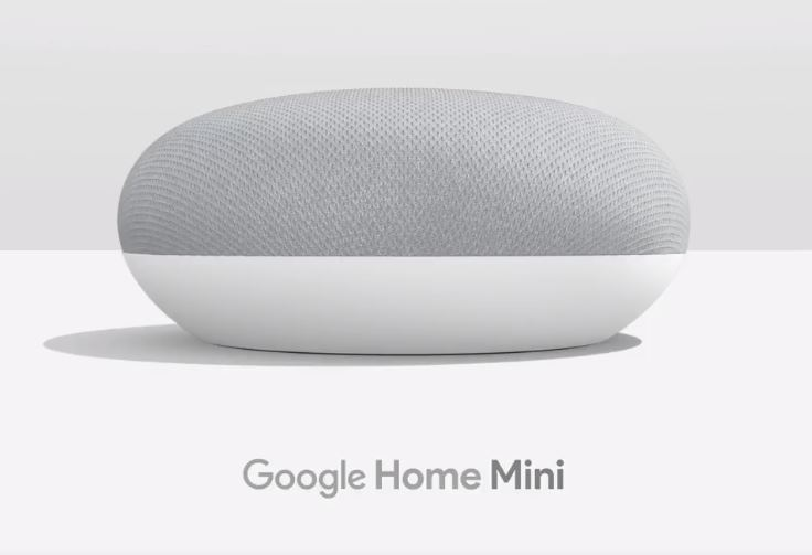 Google Home Mini Header