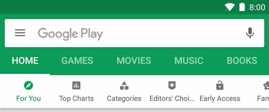 play store oktober 2017 update header