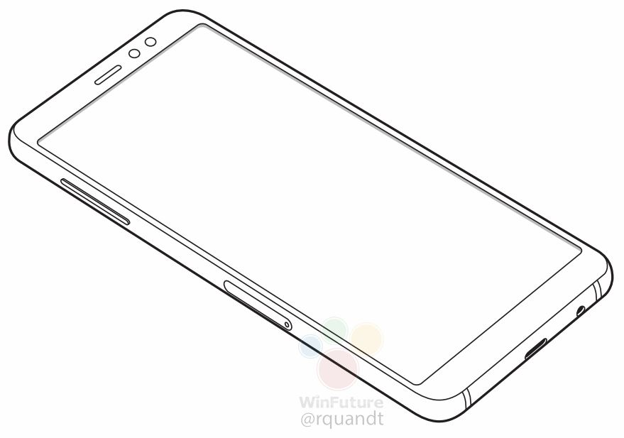Samsung Galaxy A8 2018 LEak