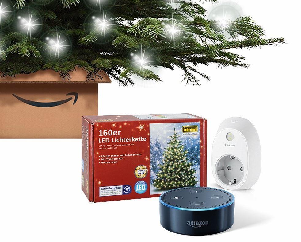 Amazon bietet bundles mit echo dot weihnachtsbaum und for Amazon weihnachtsbaum