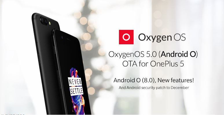 Android 8 OnePlus 5