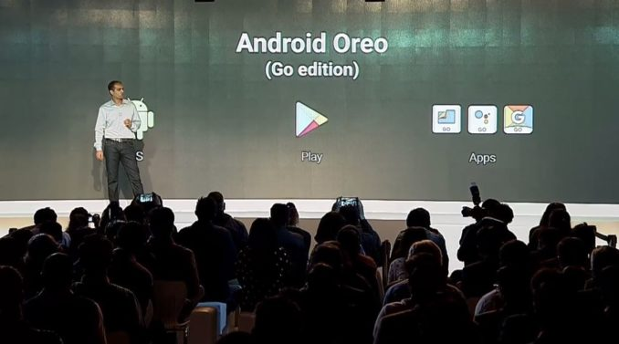 Android Oreo Go Edition Event Dezember 2017