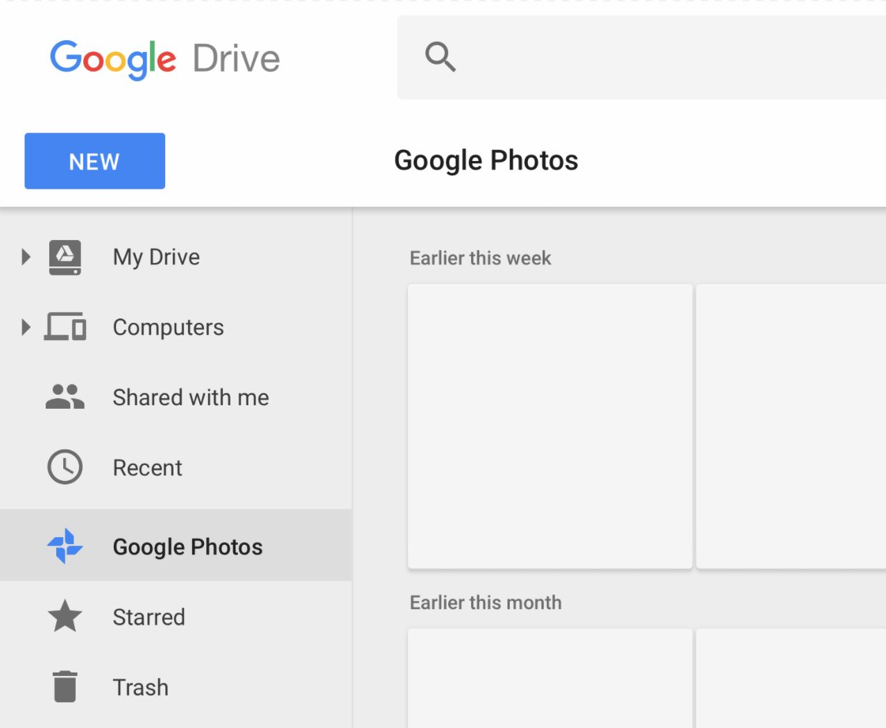 Google Fotos Google Drive Verknüpfung Januar 2018 (2)