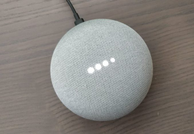 Google Home Mini test header
