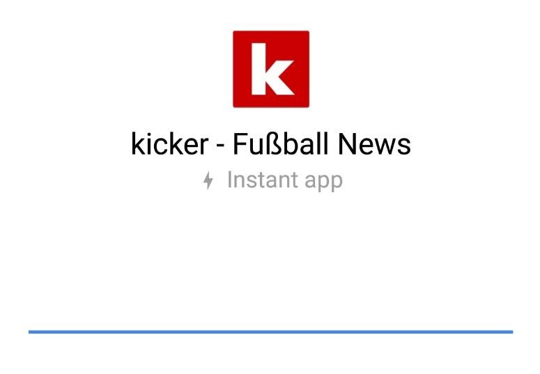 Kicker Instant App Header
