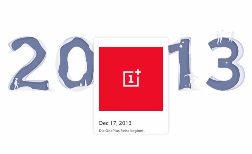OnePlus Geburtstag 2013