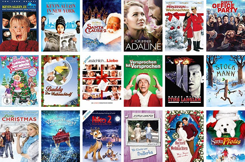 the third weekend of advent is just around the corner and christmas is approaching amazon and netflix offer the right films earlier the vhs was pushed - Amazon Christmas Movies