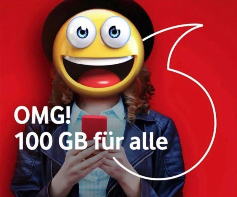 Gigaboost Vodafone 100 Gigabyte 2018